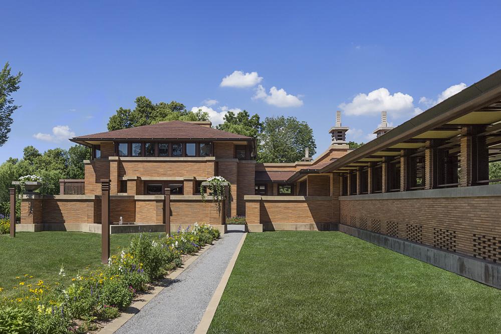 Martin House / Frank Lloyd Wright / 1905 / NY