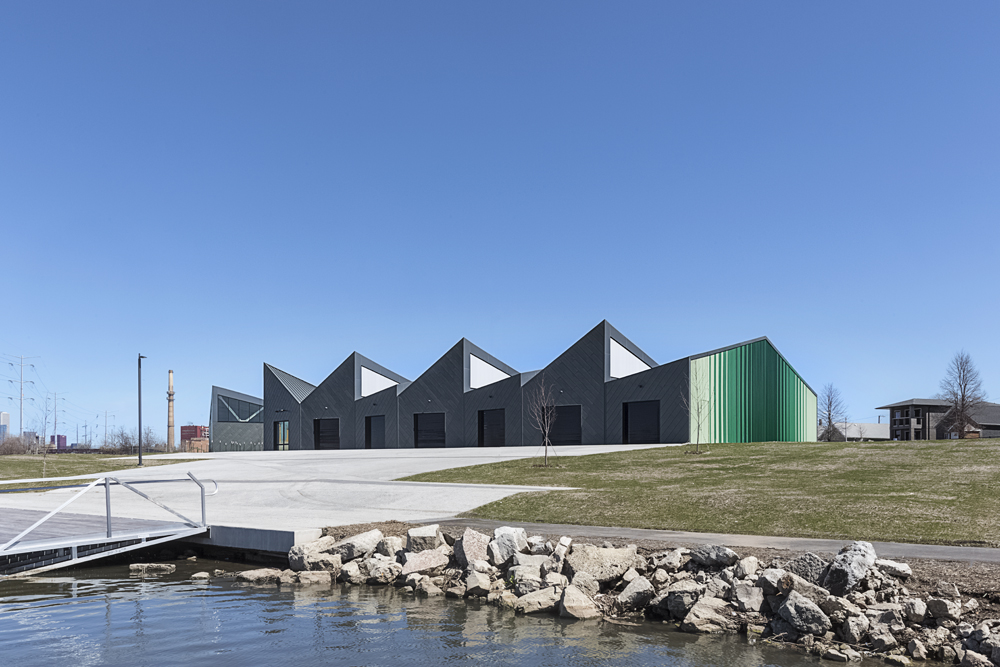 Eleanor Boathouse / Chicago IL / Studio Gang Architects
