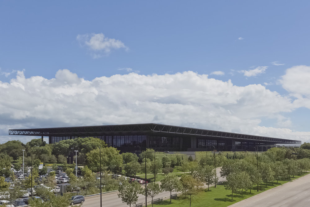 McCormick Place / Chicago IL / C.F. Murphy & Associates