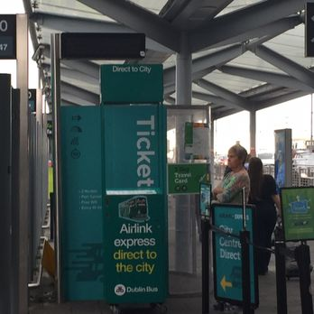 Airlink Express Ticket Kiosk. This is located outside the airport.