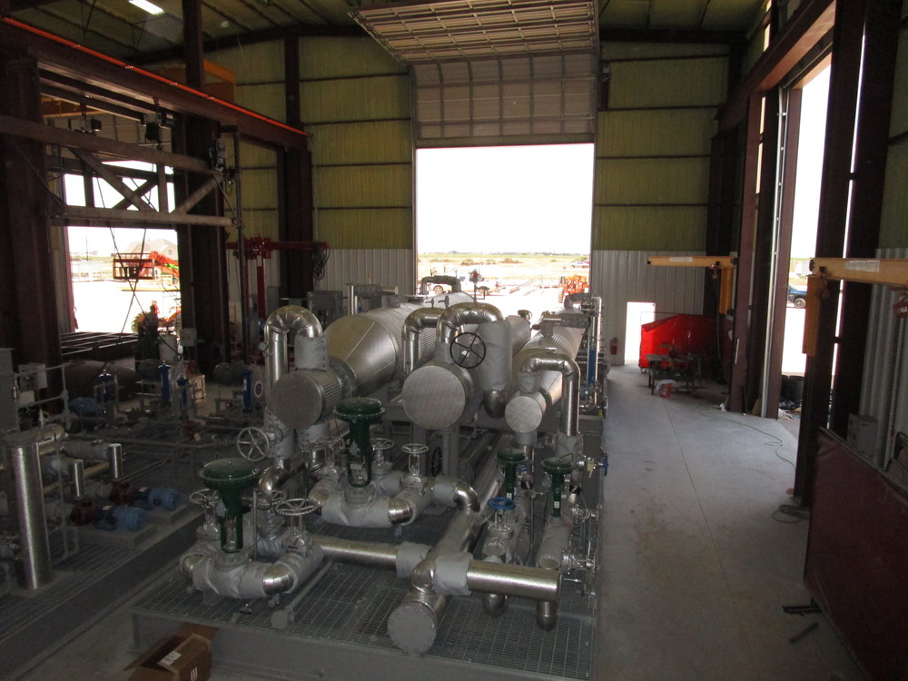 Main Stabilizer Skid