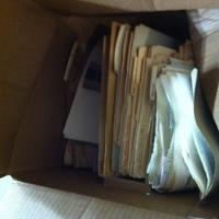 0043: Box of Medical/Family Docs/Folders