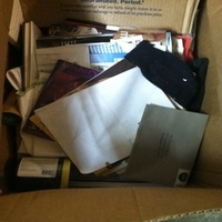 0048: Box of Misc Papers/Magazines