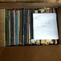0049: Box of Vinyl Records