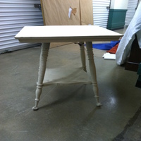 0070: Painted Wood Table (White)