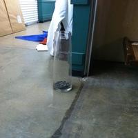 0080: Large Glass Vase