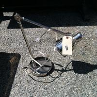 0296: Small Metal Lamp