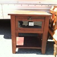 0302: Wood Side Table