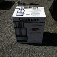 0314: Cusinart Food Processor in Box