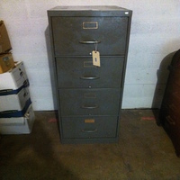 0055: Metal Filing Cabinet