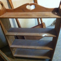 0058: Small Wood Shelf