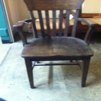 0063: Wood Chair