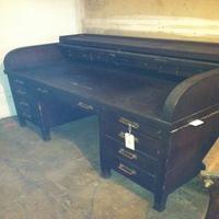 0056: Large (Heavy) Wood Desk