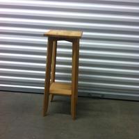 0100: Wood Stool #2