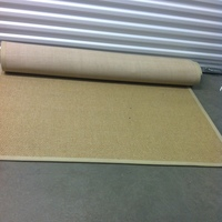 0188: Woven Tan Rug