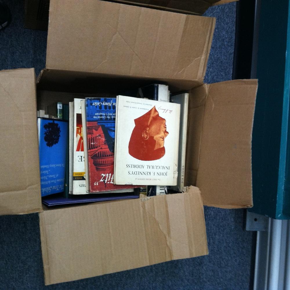 0343: Box- Misc Books