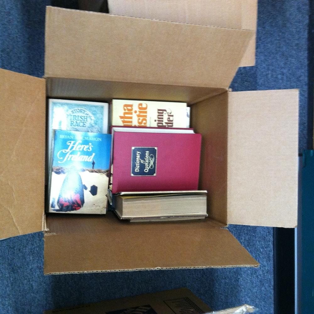 0345: Box- Misc Books