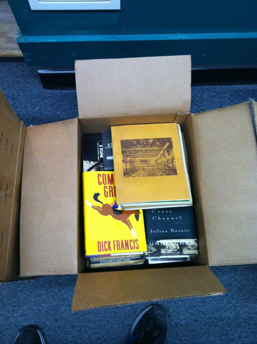 0351: Box- Misc Books