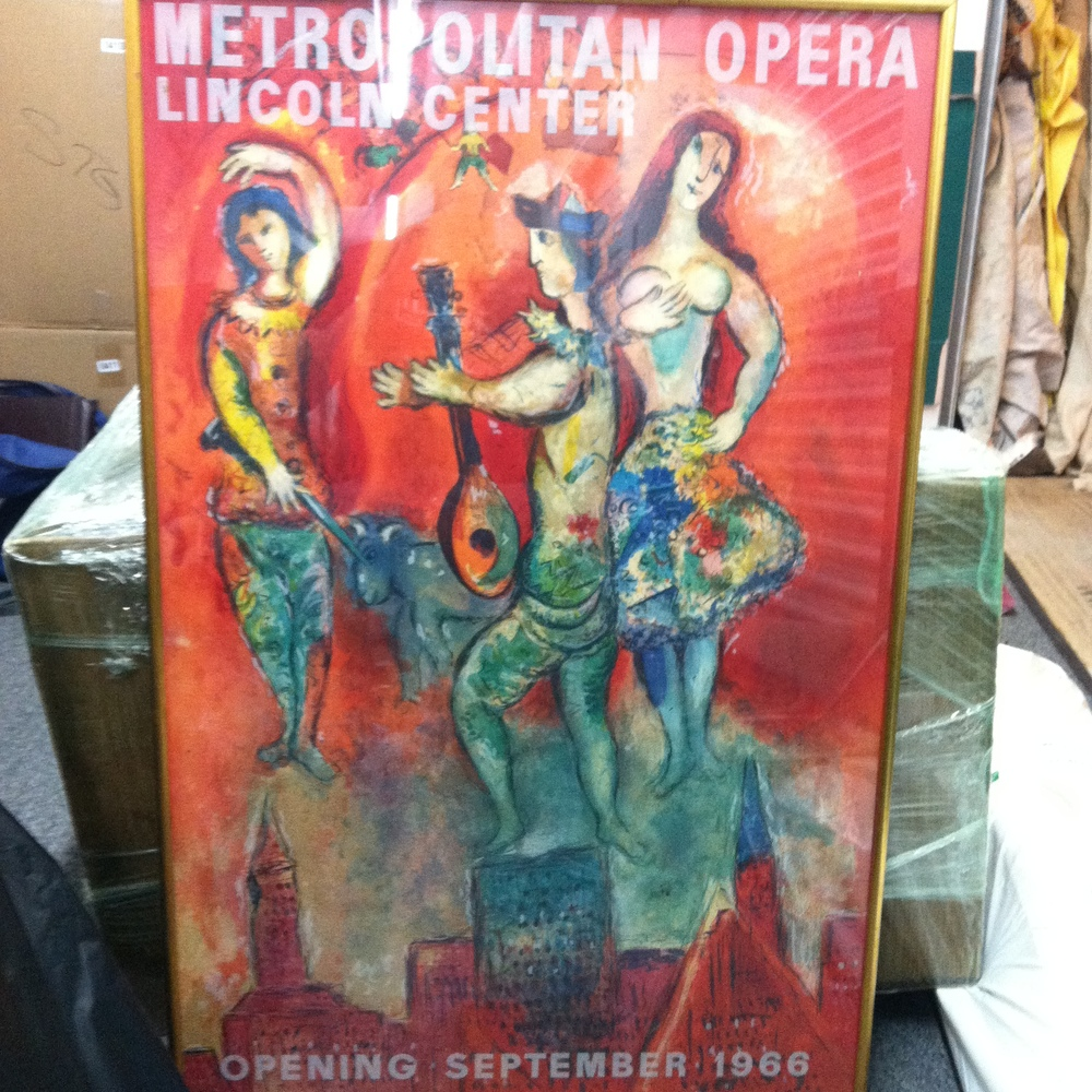 "0392: Picture- ""Metropolitan Opera Lincoln Center, Opening Sep 1966"""