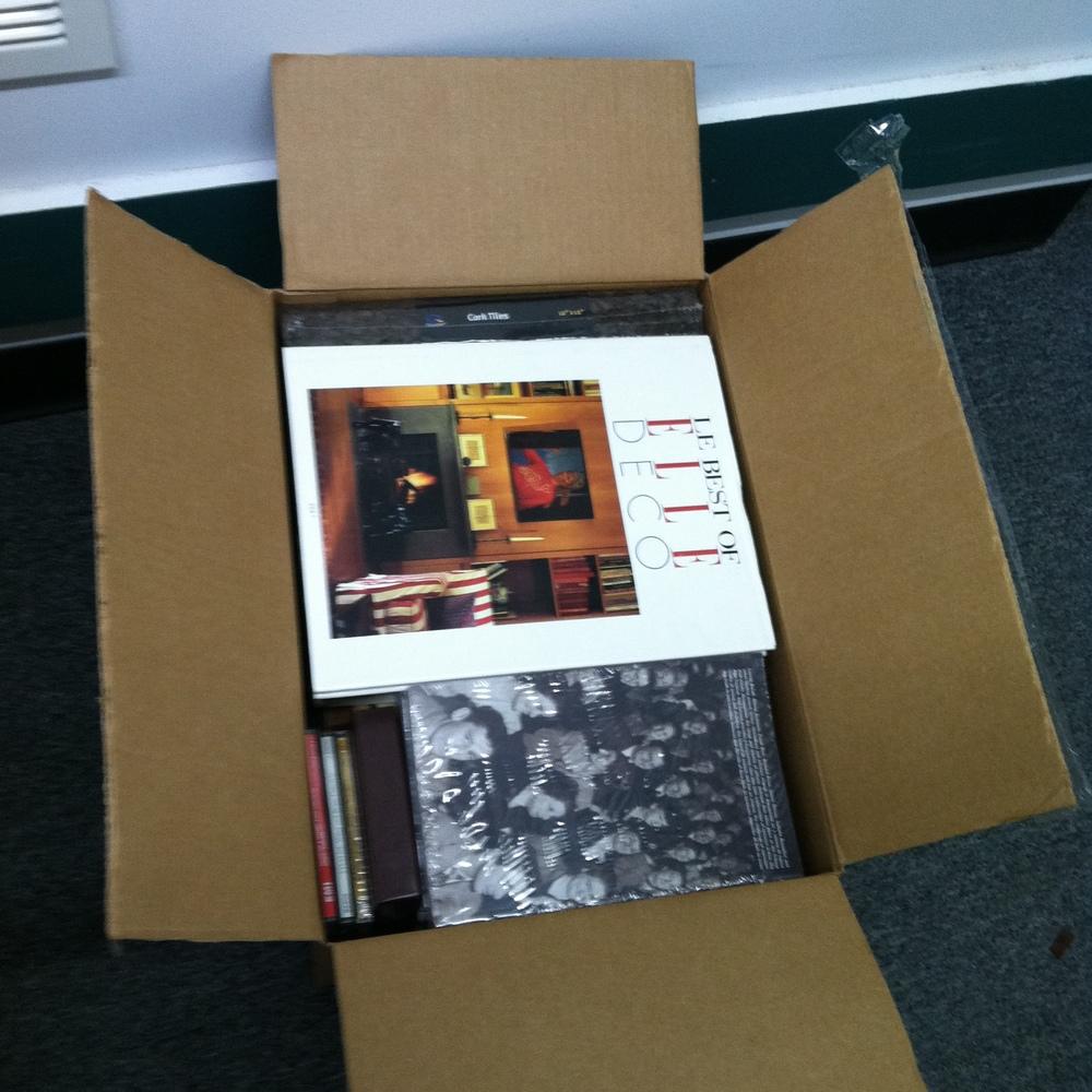 0430: Box- Misc Books