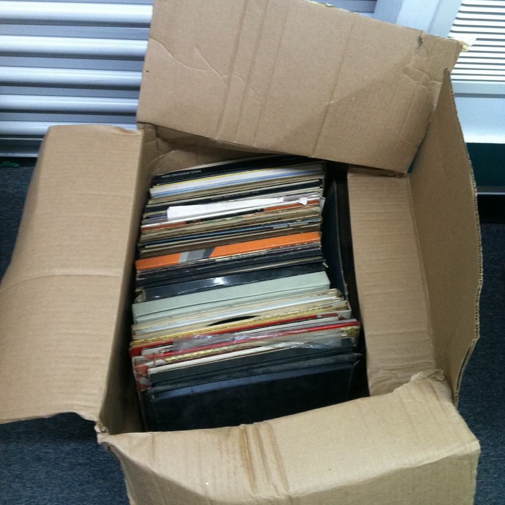 0431: Box- Maguire Old LP's