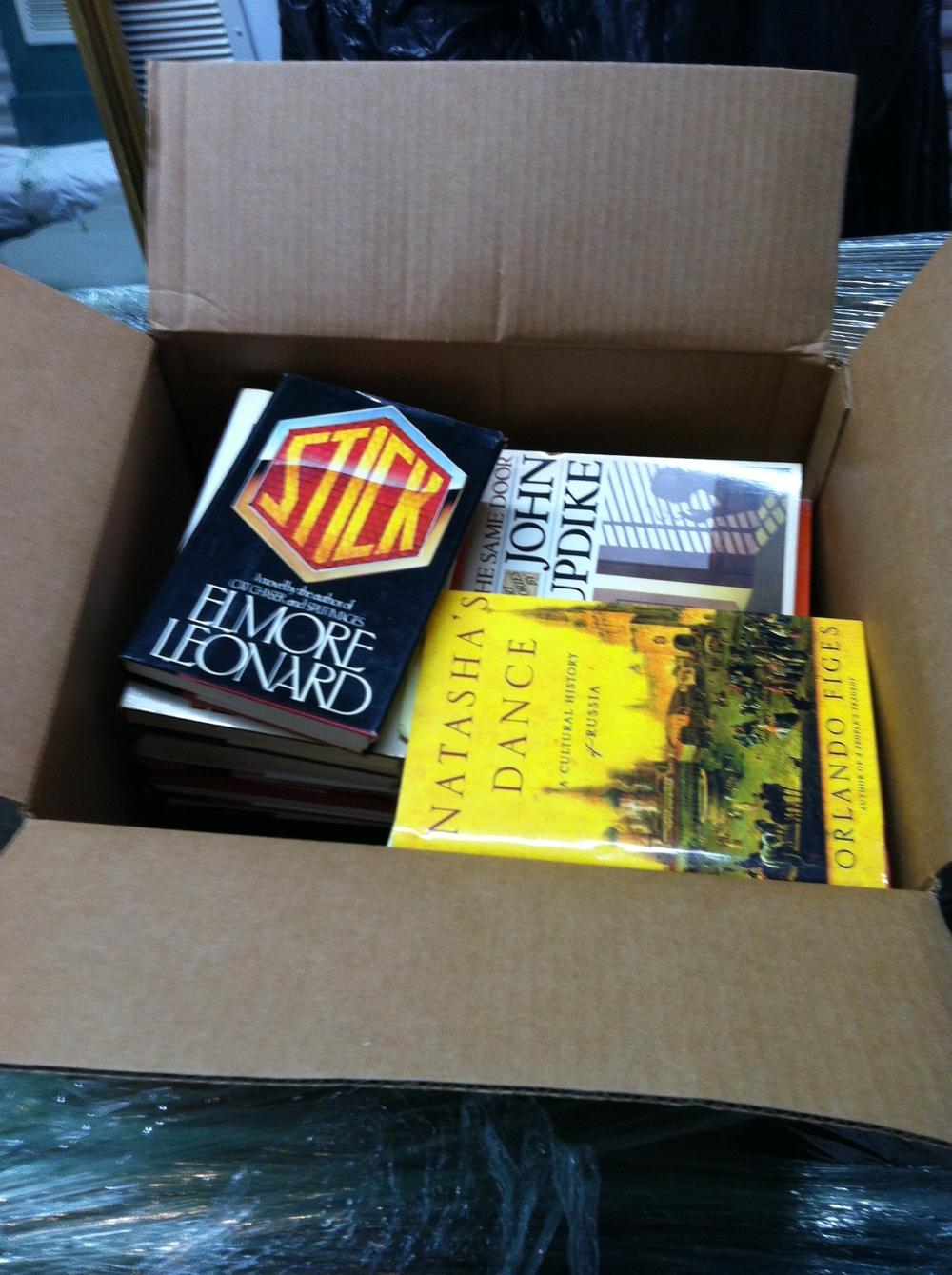 0451: Box- Misc Books