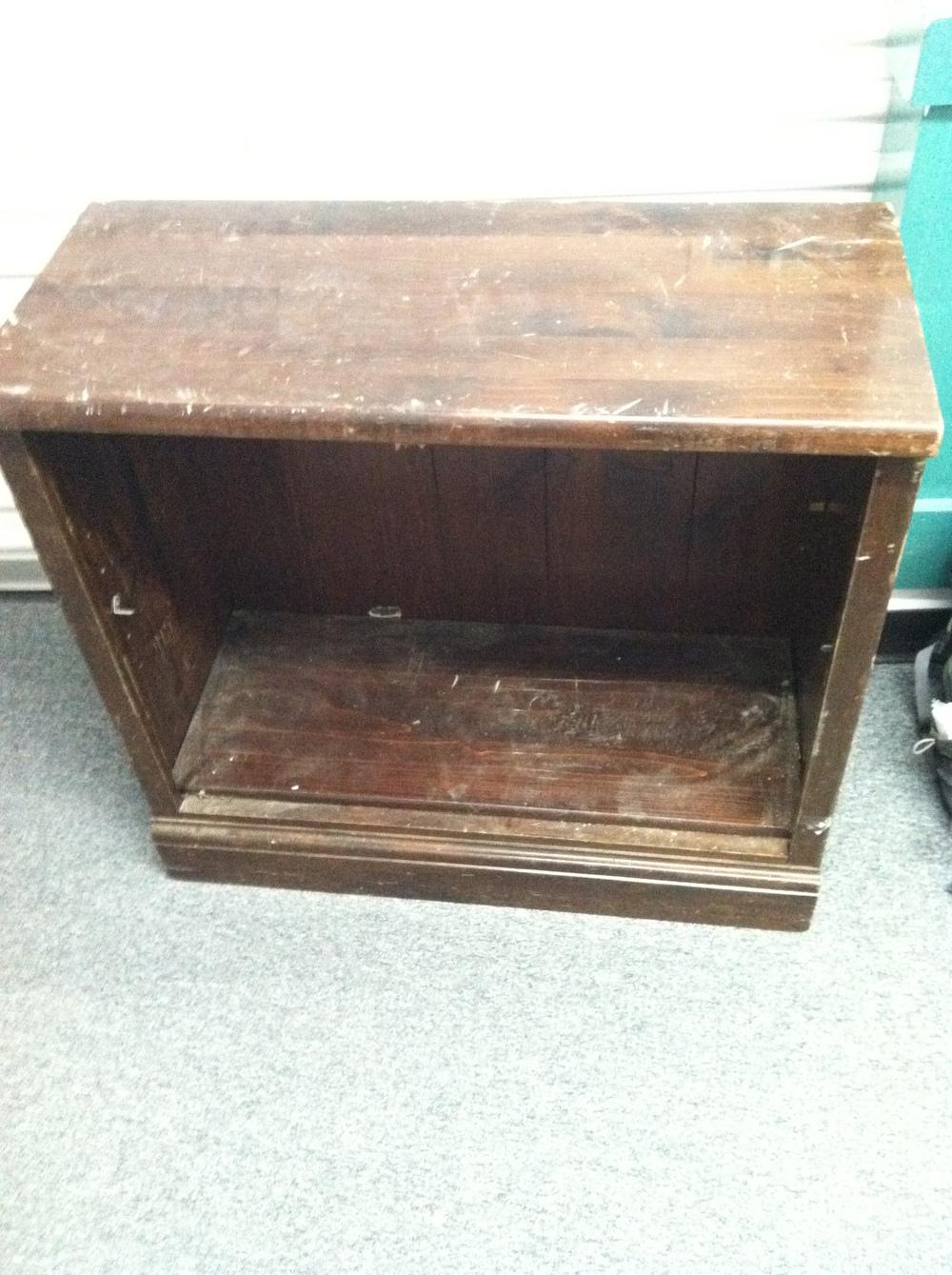 0366: Wood Shelf