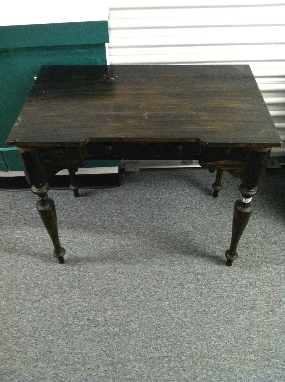 0367: Dark Wood Table