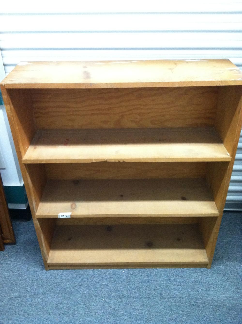 0372: Wood Shelf