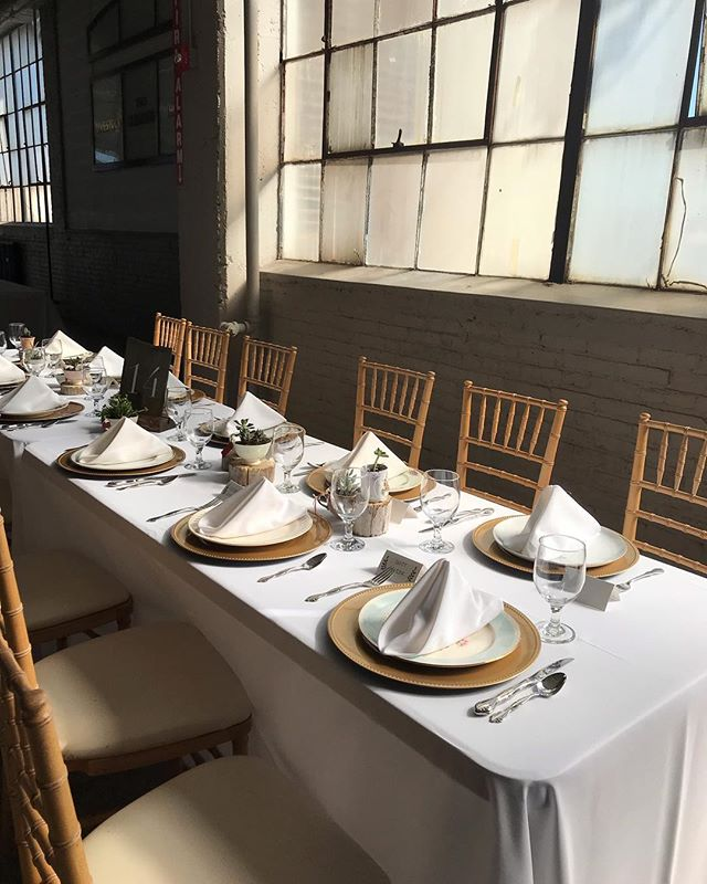 The perfect fall day for a wedding. Congratulations to n + j 🎉. . . . .#weddingday #fallwedding #industrial #venue #reception #receptioninspo #suddenlyslater @weddingwire @theknot @allseated @theknotpro @thevenuereport #septemberwedding