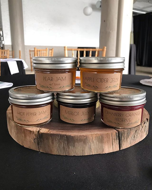 Getting ready for a brunch wedding tomorrow and we. are. excited 🥞. . . . #saturdaysareforbrunch #brunchwedding #jam #wedding #reception #uniqueweddingideas #clevelandwedding #clevelandbride #october #octoberwedding @brides @weddingwire @theknot @thevenuereport @allseated @theknotpro