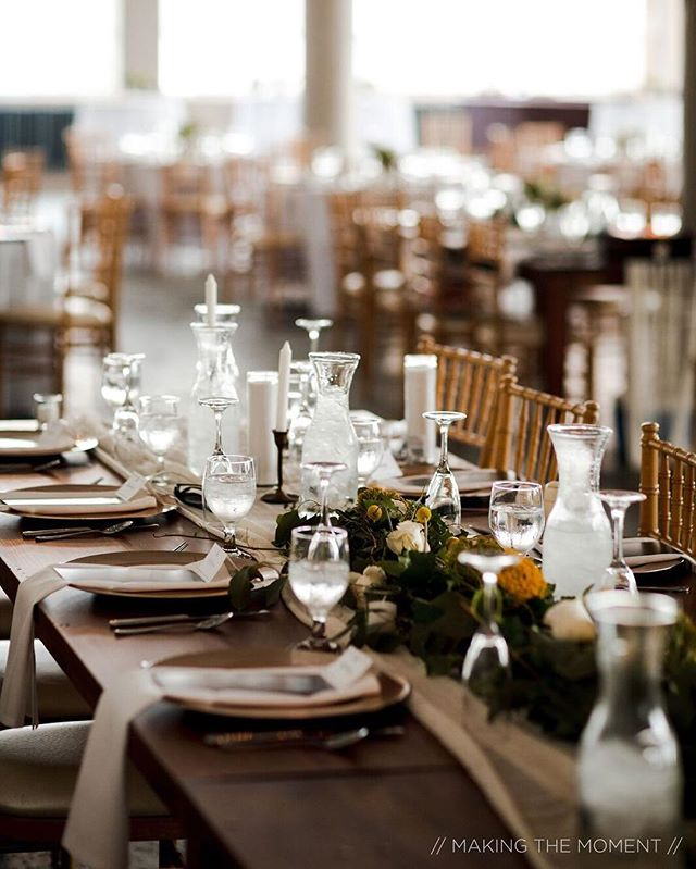 Thankful for all the wonderful clients that allow us to do what we love every weekend. May your thanksgiving be spent around the table with family and friends ❤️. . . . #thanksgiving #daytobethankful #weddingreception #diningtable #tablescape #reception #receptioninspiration @makingthemoment @brides @weddingwire @theknot @thevenuereport @theknotpro @allseated