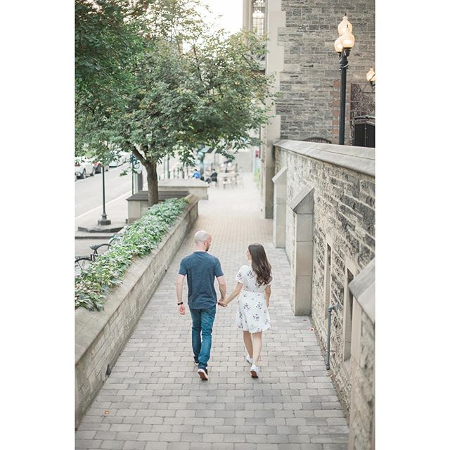 Tomorrow is the day for @samanthaderamo + Niall! We can't wait to be a part of it all! .⠀ .⠀ .⠀ .⠀ #torontoweddingphotographer #engagedintoronto #torontoengagement #engagedlife #weddingcountdown #romanticengagement #2019bride #bridetobe #radlovestories #belovedstories #gettingmarried