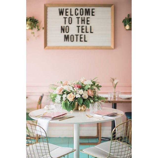 The perfect palette! Check out @vineyard.bride today for more from our mid century modern inspired @motelhamilton engagement shoot planned by @asyouwishweddings, florals by @petal_to_the_metal_florals and hair and makeup by @thebridalparty_  Link in profile and more images in our stories!  #modernengagement  #couplesphotoshoot #couplesphotographytoronto #torontophotographer #gtaphotographers