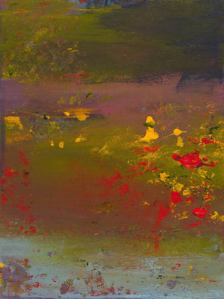 Pond at Sunset III