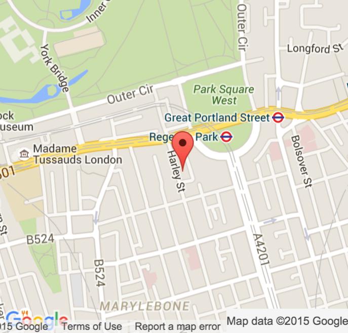 dr martin saweirs gp map harley street