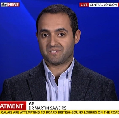dr martin saweirs chelsea harley street sky news