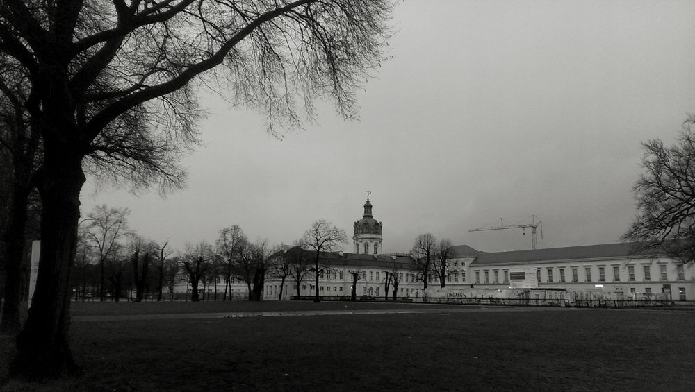 This is the Charlottenburg Palace.