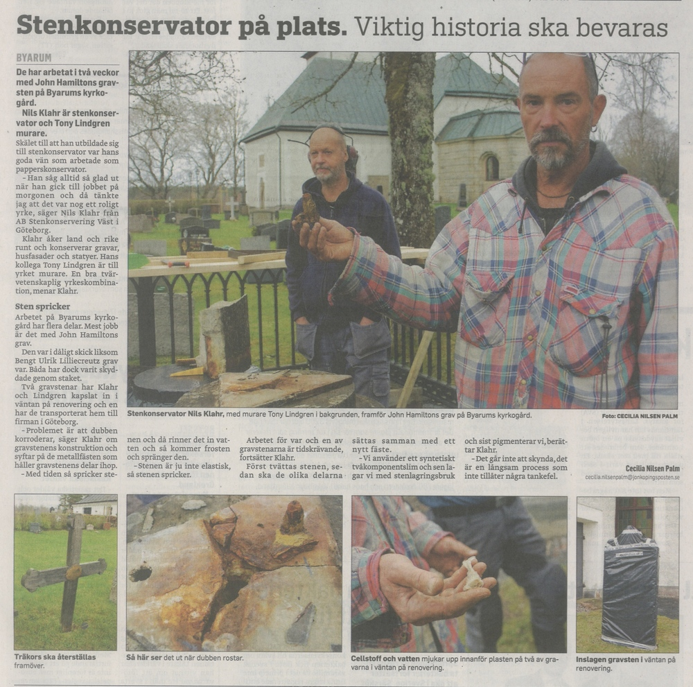 Jönköpingsposten 15 maj 2013