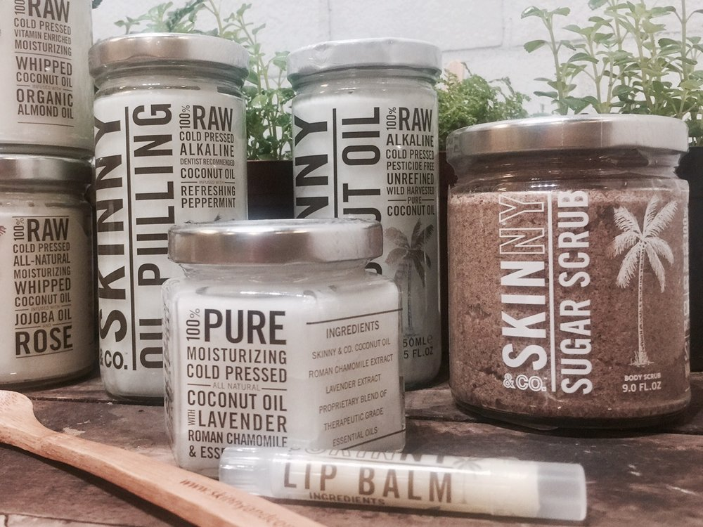 Our complete line includes pure coconut oil! The highest quality & most environmentally friendly on the market.