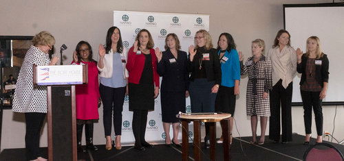NAWBO Board swearing in