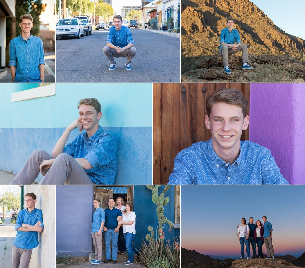 Collin's Senior Portraits