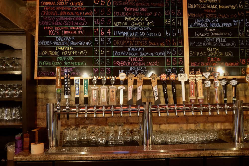 Front Street has 30 North Dakota and Minnesota beers on tap