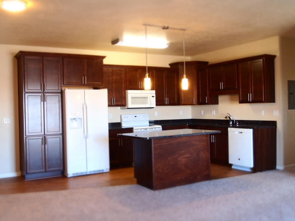 Altoona Towers Apts - Altoona, IA / typical kitchen cabinetry