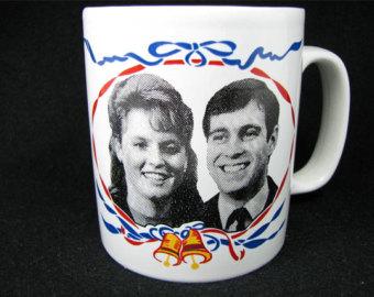 Andrew and Fergie Mug