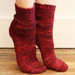 Dimpled Socks