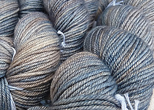 November 2014 50/50 Merino/Silk Field Frost