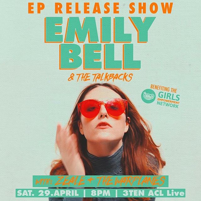 This Saturday we are opening for @zeale and @emilybellmusic at @3tenaustin and you should absolutely come hang out, we kick it off at 8!