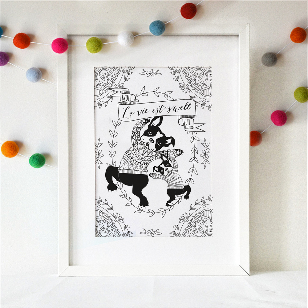 The coloring book project free download - Free Download Coloring Book Wall Art