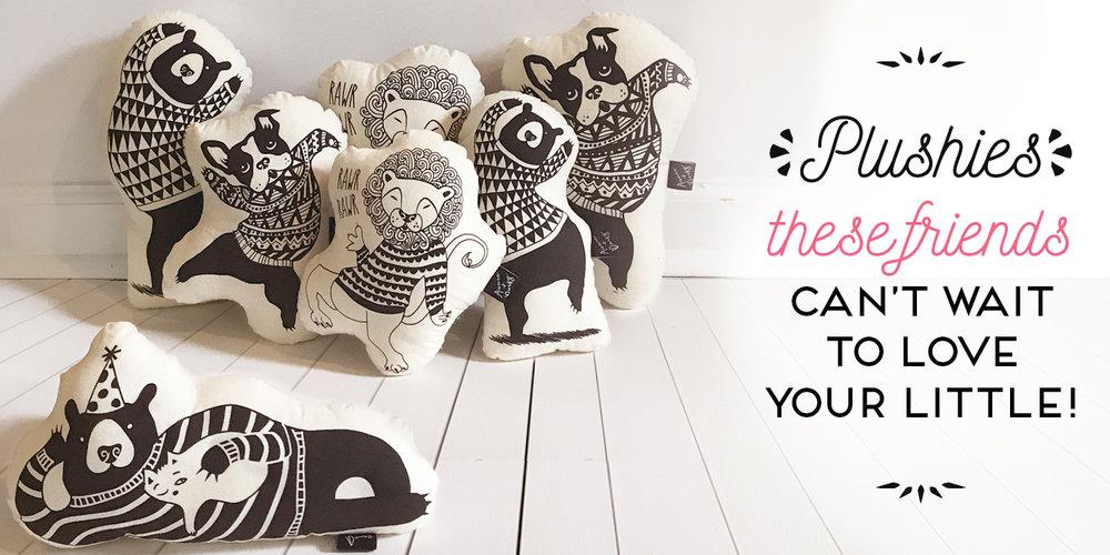 Soft toys & pillows